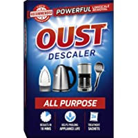 Oust Powerful All Purpose Descaler, Limescale Remover – Ideal for Kettles, Coffee Machines, Irons and Shower Heads (1 x…