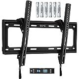 Amazon Brand – Eono Support TV Mural Inclinable, pour la Plupart des Téléviseurs LED, LCD, OLED et Plasma de 26-55 Pouces jus