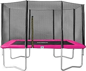 Salta Trampolin COMBO rechteckig mit Sicherheitsnetz Gartentrampolin