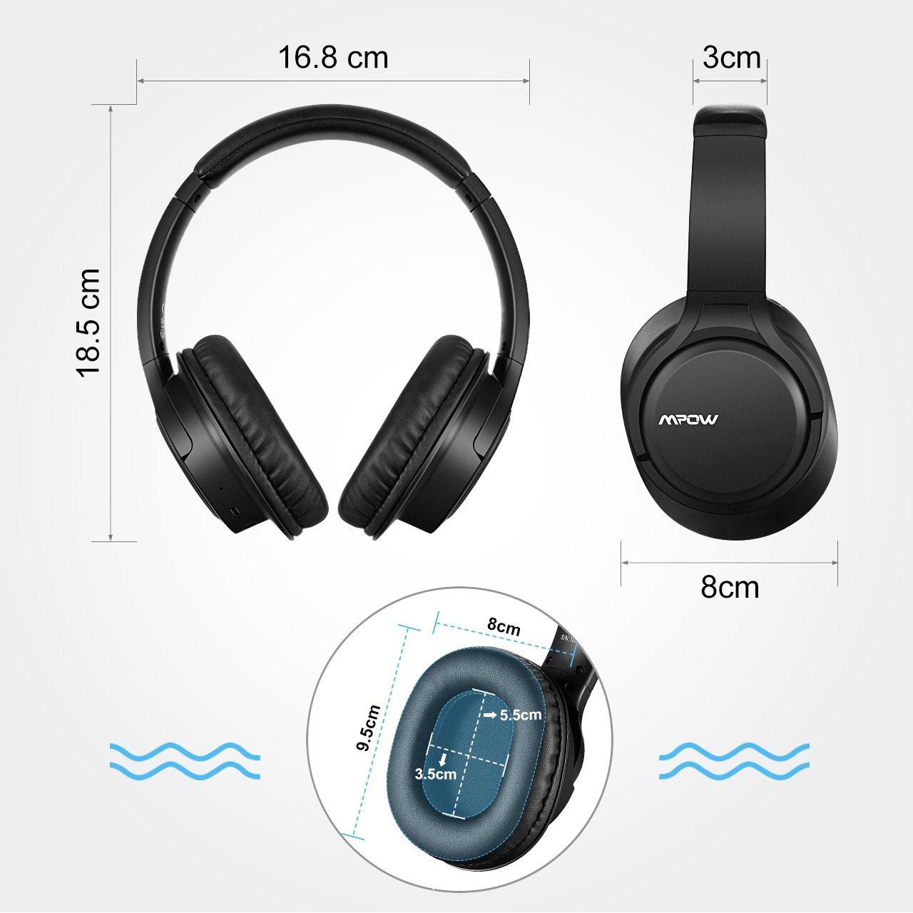 Mpow Cuffie Bluetooth 4.1 Stereo H7 e4913b24b4b3