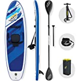 Bestway Hydro-force SUP, Oceana Convertible Stand Up Paddle Board set with Hand Pump