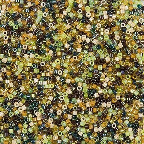MIYUKI perles graines Delica taille 11/0mélange Earthtone 7,2g