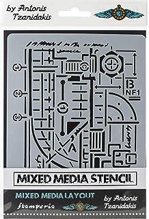 Stamperia Stencil 5.90x7.87-circuit Board