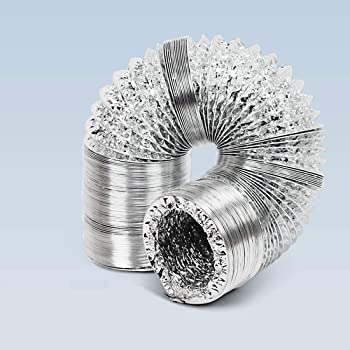 12 315mm 10m 8 200mm x 10m or 5m Aluminium Flexible Ventilation Hydroponic Ducting All Sizes