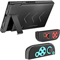 MoKo Compatibile con Nintendo Switch Case, Custodia Protettiva in Alluminio Antiurti Protezione Switch Shell Set Cover…