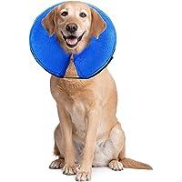 PET SPPTIES E-Collar Gonfiabile Collo Collare Gonfiabile per Cane Cani Collo di Protezione PS005
