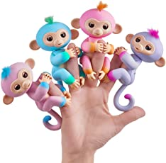 Magicwand Funny Baby Monkey with 6 Interactive Modes (Multicolour)