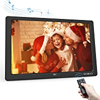 10.1 Inch Digital Photo Frame with HD IPS Screen 16:10 Full Display,BESCHOI Electronic Picture Frame,Support USB/ 64GB…