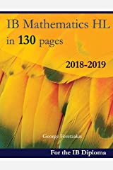 IB Mathematics HL in 130 pages: 2018-2019 Broché
