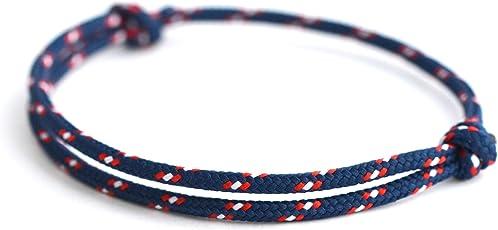 KOMIMAR dezentes Surfer Armband BEACH - Strandschmuck - lässig - Armband - Armreif - Textilarmband - Freundschaftsarmband - Bracelet - Sommertrend - Herren Armband - Damen Armband - cool - Après-Ski