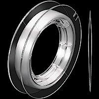 500 m Fil en Nylon Invisible Transparent pour Ornements Suspendus et Loisir de Coudr, Fort et Invisible, avec Perle…