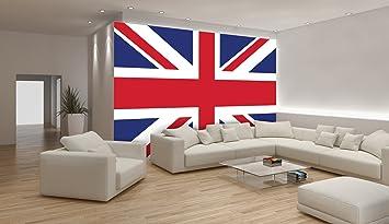 Union Jack British Flag Wallpaper Mural Amazoncouk DIY  Tools