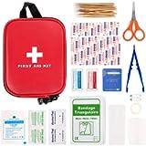 Maalr 100 Pezzi Kit di Pronto Soccorso, Scatola di Sopravvivenza Mini Professionale, Borsa di Emergenza Medica…