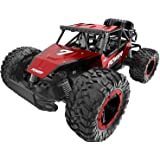 XIXOV Remote Control Car, 1:14 Aluminium Alloy Off Road Large Size Kids High Speed Fast Racing Monster Vehicle Hobby Truck El