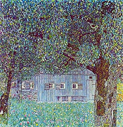 La Musée Outlet–Farm House in Upper Austria by Klimt–Toile (61x 45,7cm)