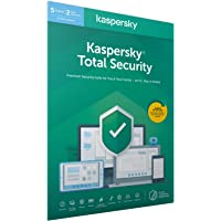 Kaspersky Total Security 2020- 5 Licenze - 2 Anni PC/Mac/Android - Codice all'interno Di Un Pacchetto