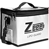 Zeee Lipo Safe Bag Vuurvaste, explosiebestendige tas, grote lipo-accu-opbergdoos, veiligheidstas voor het opladen en bewaren