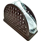HONEST Napkin Holder, Dining Table Napkin Organizer, Best Tissue Holder Stand Made of Plastic (Color May Vary).