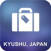 Kyushu, au Japon Offline Map