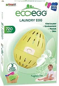 Ecoegg - Uovo ecologico con 720 dosi di detersivo per lavatrice
