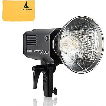 Godox AD600Witstro Black–Flash (Black, 2.5S, Canon, Nikon, Sony, 5600K, 10W, 87(M)