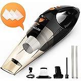 VacLife Handstaubsauger, kabellos, aufladbar, klein und handlich, mit hoher Leistung und Schnellladefunktion, für Haus- und A