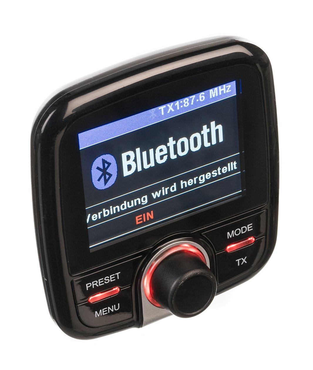 Dual-DAB-CA-10-KFZ-Adapter-automatischer-Sendersuchlauffunktion-Bluetooth-und-AUX-In-Anschluss-Farbdisplay-schwarz
