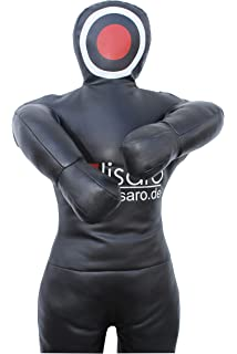 ROX Grappling Dummy Realistische Aufh/ängen Stil Brazilian Jiu Jitsu Training Bag Gemischte Kampfkunst MMA Ungef/üllt Schwarz