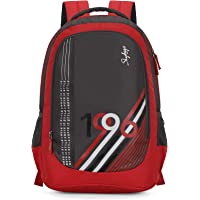 Skybags 27 Ltrs Grey-Red Casual Backpack (BPBEA3EGRD)