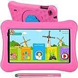 Tablette pour Enfants 7 Pouces AWOW Tablette Tactile Enfants, Android 10 Go Quad Core, iWawa Préinstallé, avec étui Kid-Proof