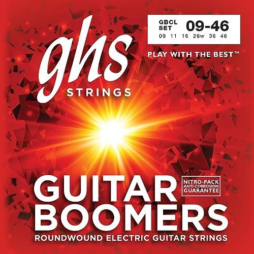 GHS Boomers Custom Light 9-46 Corde per Chitarra