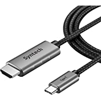 Syntech USB C to HDMI Cable (4K@60Hz),Thunderbolt 3 to HDMI Cable…
