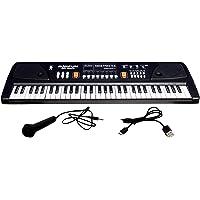 Domenico Electronic Digital Piano Keyboard 61 Keys- Multi-Function Portable Piano Keyboard Electronic Organ with…
