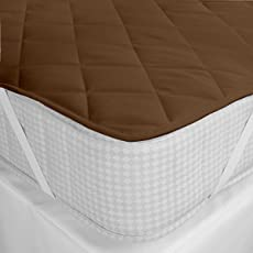 Style Urban Bed Care Waterproof and Dust Proof Double Bed Size Mattress Protactor (Size 60 X 78 inches ; Color White)