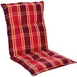 Homeoutfit24 Prato - Coussin de Chaise de Jardin, Fabrique en Europe, Confortable, Resistant aux UV, Housse Douce, 1 pièce -