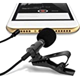 CEUTA® Digital Noise Cancellation Clip Collar Mic Condenser For Youtube Video | Interviews | Lectures | News | Travel…