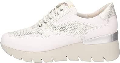 Valleverde 18252, Sneaker da Donna Bianca, Scarpa Donna Bianca