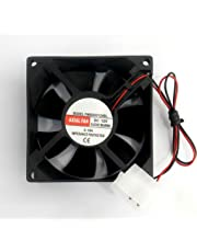 FourDot DC Axial Computer Case Cooling Cabinet Fan 12volt 3inch 80 mm (25 mm Thick)