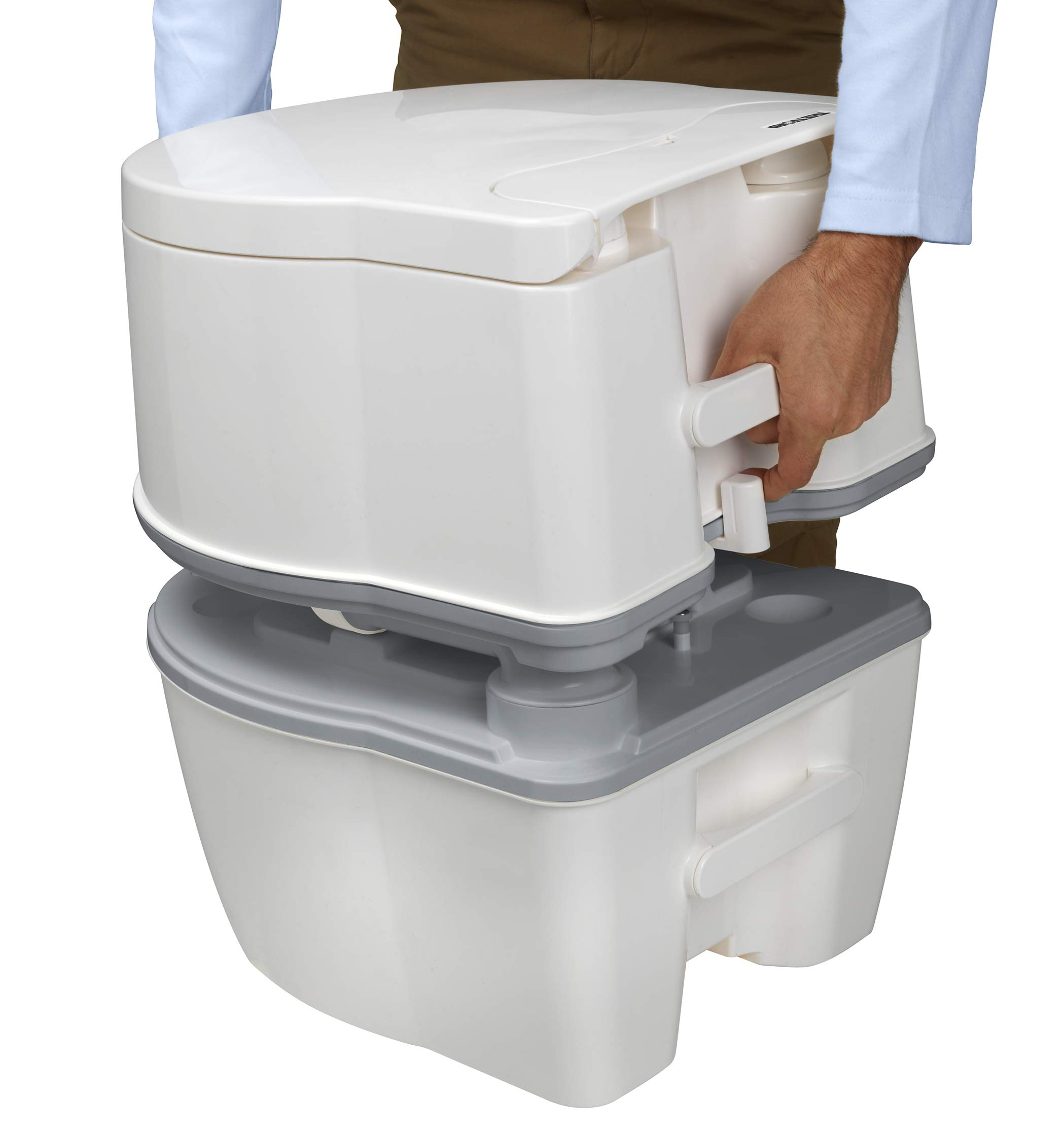 Thetford 92305 Porta Potti 565P Excellence Portable Toilet (Manual), 448 x 388 x 450 mm 15