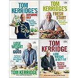 Tom Kerridge Collection 4 Books Set (Tom Kerridge's Dopamine Diet, Fresh Start, Lose Weight for Good, Lose Weight & Get…