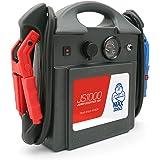 MAXTOOLS JS1000, Démarreur d'urgence portable Professionnel 1380A 12V 22Ah avec 4140A de démarrage, Jump starter, Booster, Dé