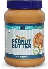 HealthKart Peanut Butter Unsweetened, Creamy,1 Kg