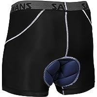 Padded Cycling Shorts Men Boys Mountain Bike MTB Anti Slip Cool Dry Lightweight Sports Underwear Shorts Breathable…