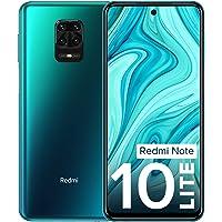 Redmi Note 10 Lite Aurora Blue 4GB RAM 128GB ROM | Alexa Built-in