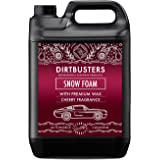 Dirtbusters Snow Foam Shampoo, reinigingsschuim, professionele auto-reiniger, veilig, niet giftig, met hoogglanswas en zoete