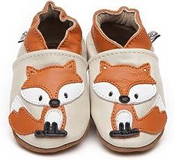 Weiche Leder Baby Schuhe Fuchses 12-18 monate