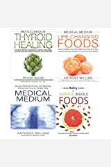 medical medium anthony williams collection 4 books set- thyroid healing[Hardcover],life-changing foods[Hardcover],medical medium,Hidden Healing Powers Paperback