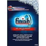 FINISH Lot de 2 Sels Régénérant Lave-Vaisselle - 4 kg