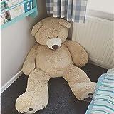 Bananair Orsacchiotto XXL Gigante (da 130 cm a 340 cm) Orso de Peluche Teddy Bear Peluche Morbida, Perfetto per Compleanno, N