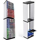 Soporte De Torre De Disco De Juego,soporte Vertical Desmontable Multifuncional Y Soporte De Disco De Juego De CD,contenedor D